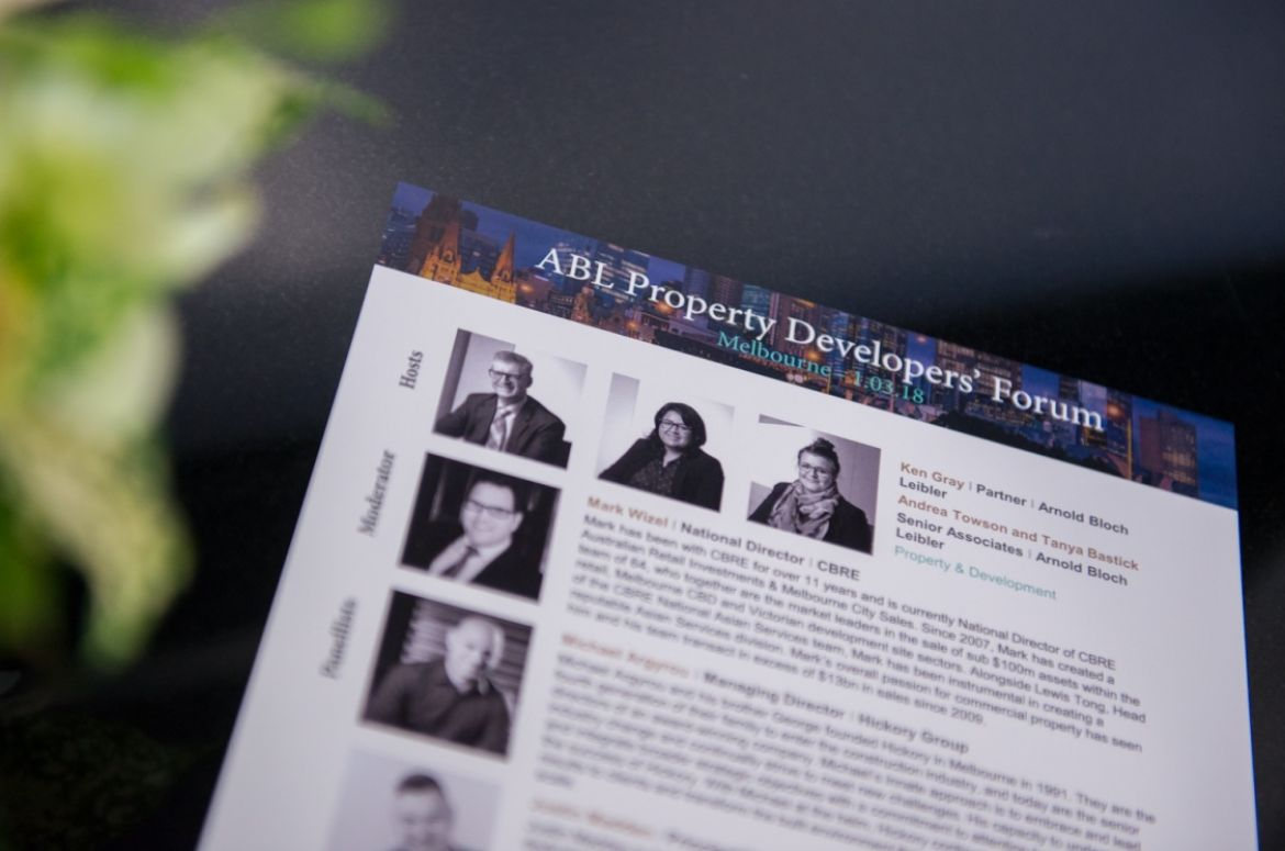 ABL Property Developers Forum BIOS