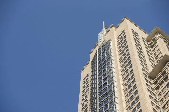 ABL Sydney with blue sky
