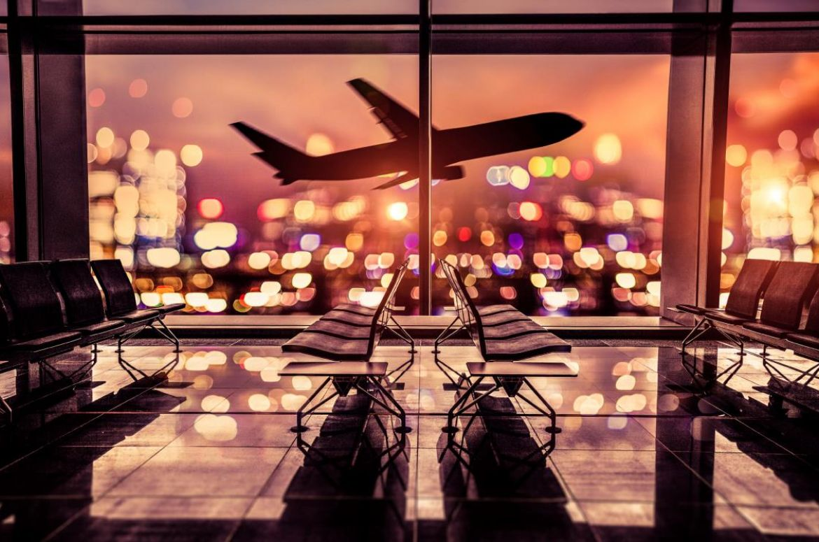 Airport lounge website
