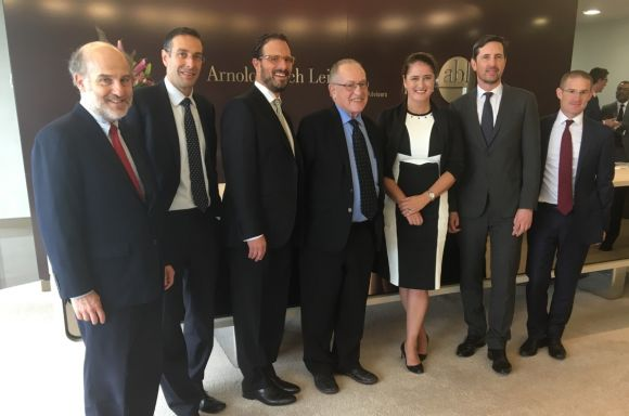 Alan Dershowitz Sydney 26 Feb 2018