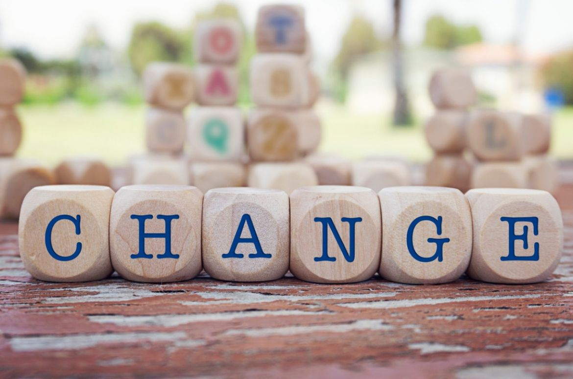 Change word written on wooden blocks