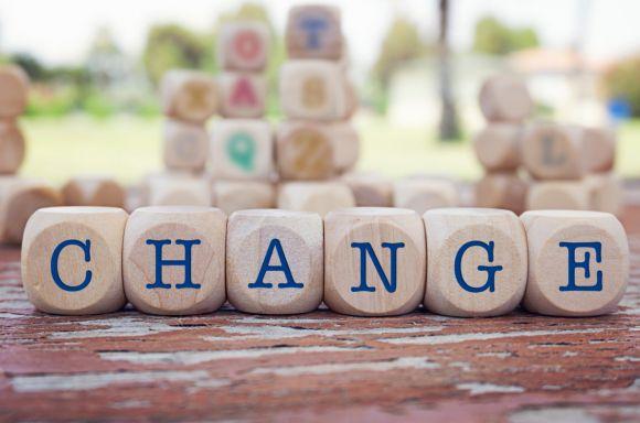 Change word written on wooden blocks