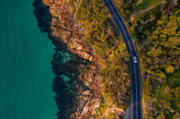 Coastal road Resampled