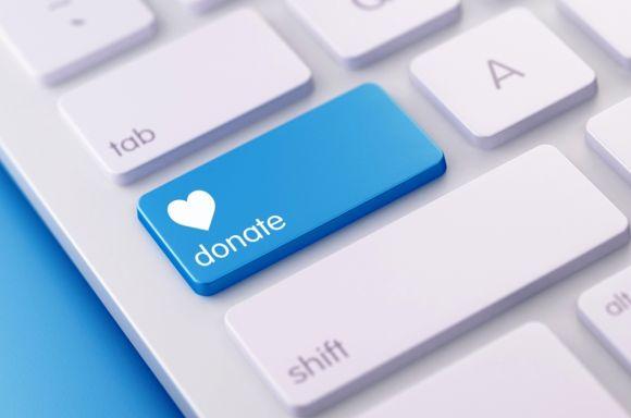 Donate keyboard resized iStock 637945860