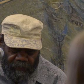 Frank Yamma with painting v2
