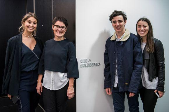 Goldberg Boardroom Dedication family photo resized for web