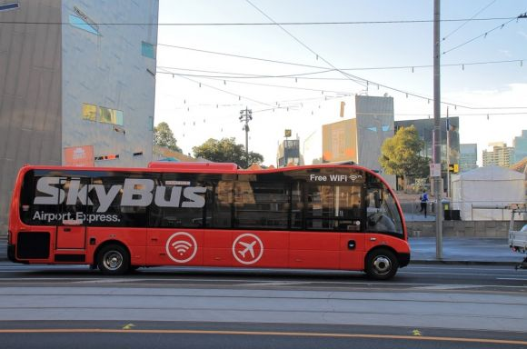 SkyBus Melbourne city