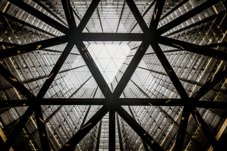 Skyscrapper attrium