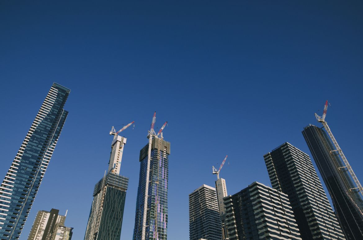 Skyscrappers in Melbourne
