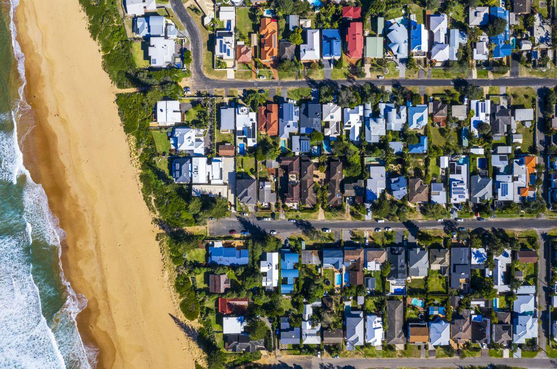 Sydney aerial property