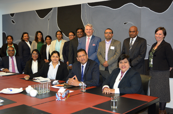 Workshop for Sri Lankan delegation