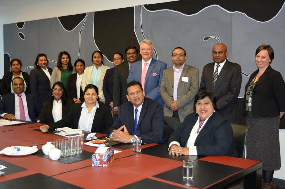 Workshop for Sri Lankan delegation