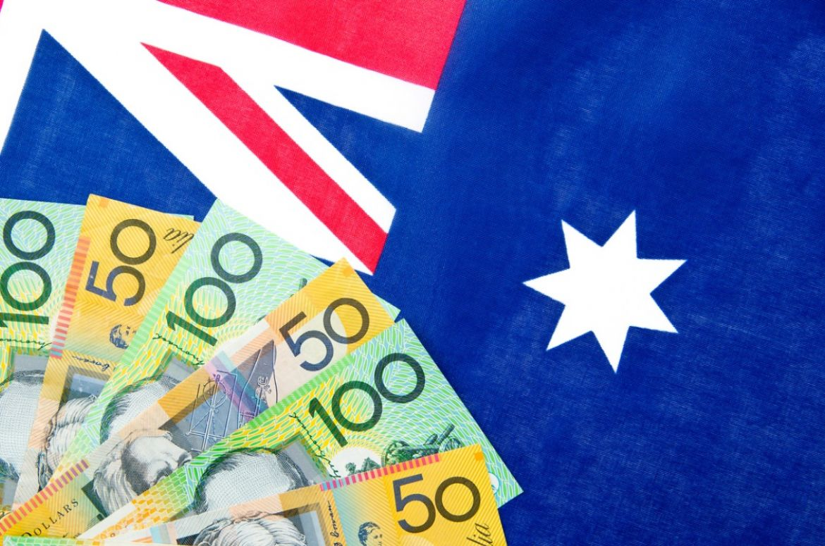 australia money and flag picture id685816822 1