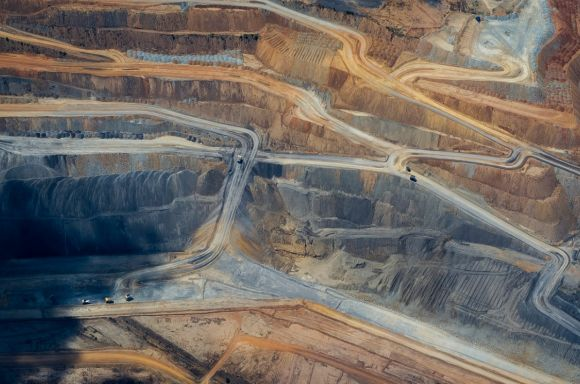 coal mine abstract aerial photograph picture id1097211918