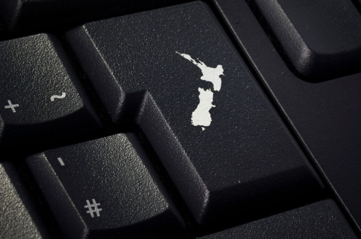 keyboard with return key in the shape of new zealand picture id652327846