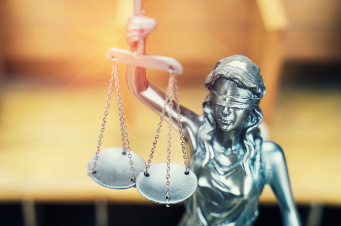 law themelady justice statue on wooden background picture id1215266519